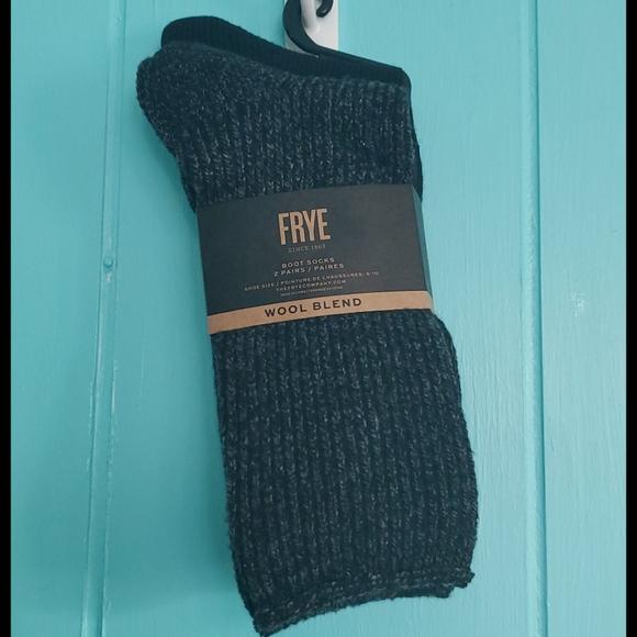 Frye Wool Blend 2 Pairs Socks